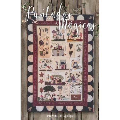 Revista de patchwork PUNTADAS MÁGICAS Nº 2