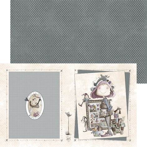 Archivador Ofelia y el patchwork