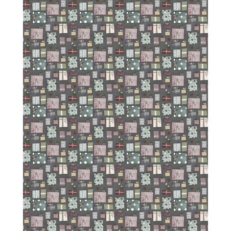 Tela Regalos colección Una Navidad de Abrazos (Tablilla de 5 metros)